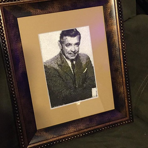 Clark Gable 5x7 Photostitched