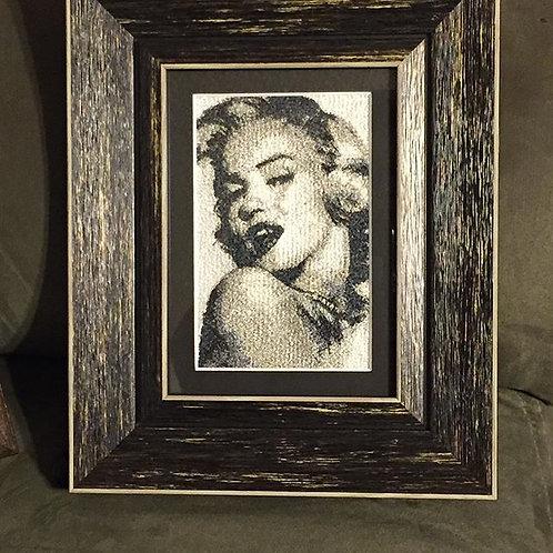 Marilyn Monroe framed photostitch