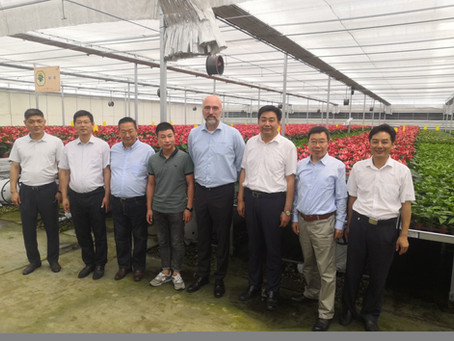 Netherlands consulate-general pre visit to Taizhou agro park