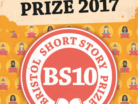 Carina makes the longlist for the 2017 Bristol Short Story Prize.