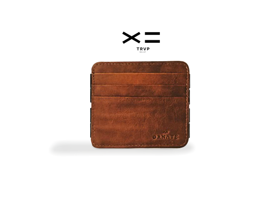 TRAP Wallet Aged Brown
