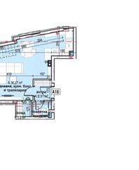 апартамент А16, ет. 4, ниво 1