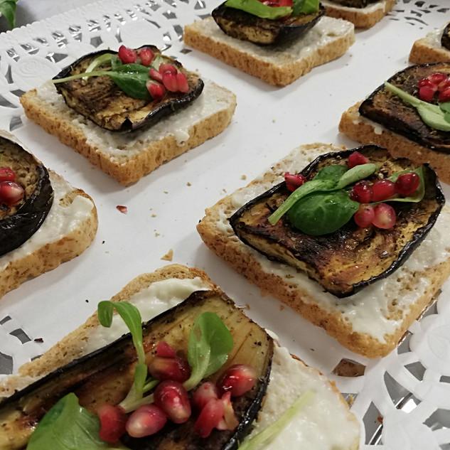 orientalisch belegte Brote