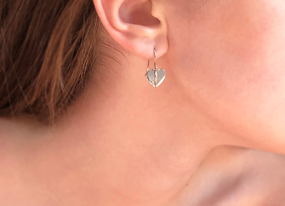 Boucles d'oreilles petits coeurs