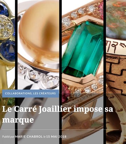 Le Carré Joailler, Place Saint-Sulpice - 14 au 24 juin 2018
