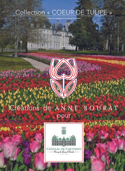 "Collection ""Coeur de Tulipe"", en vente au Château de Cheverny"