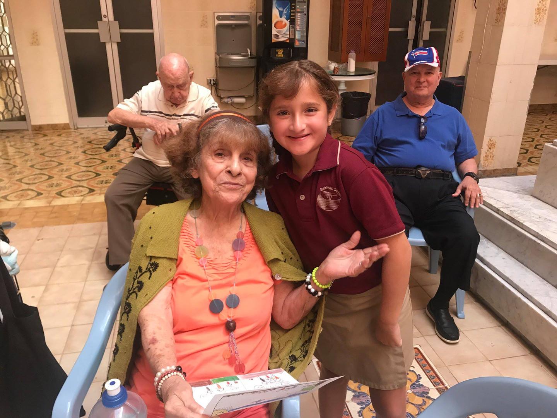Visit to senior home