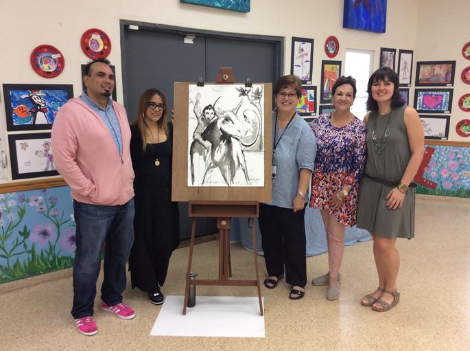 Art week with guest artist