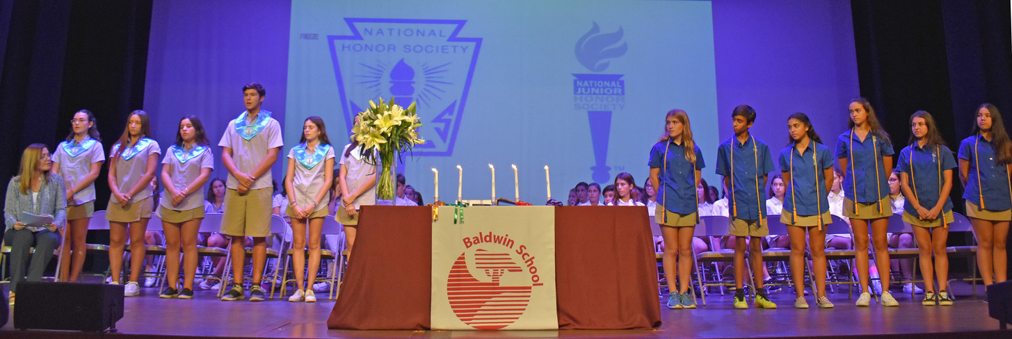 National Honor Society and National Junior Honor Society