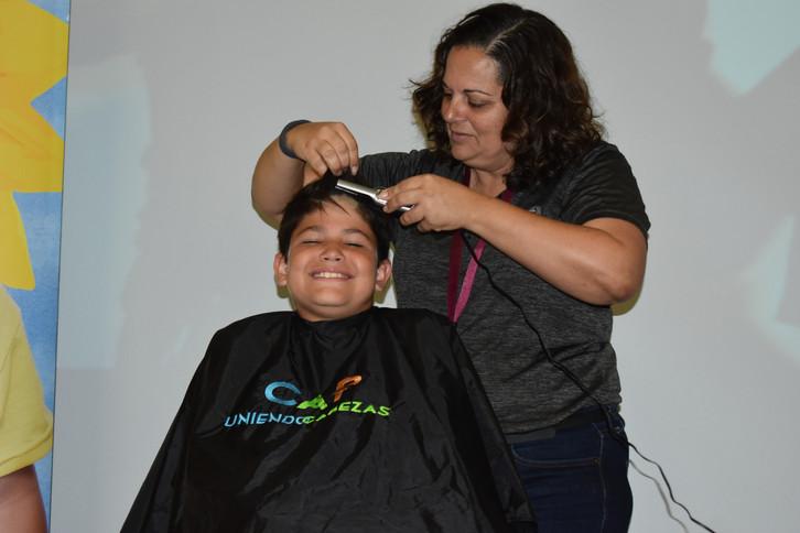 CAP head shaving day