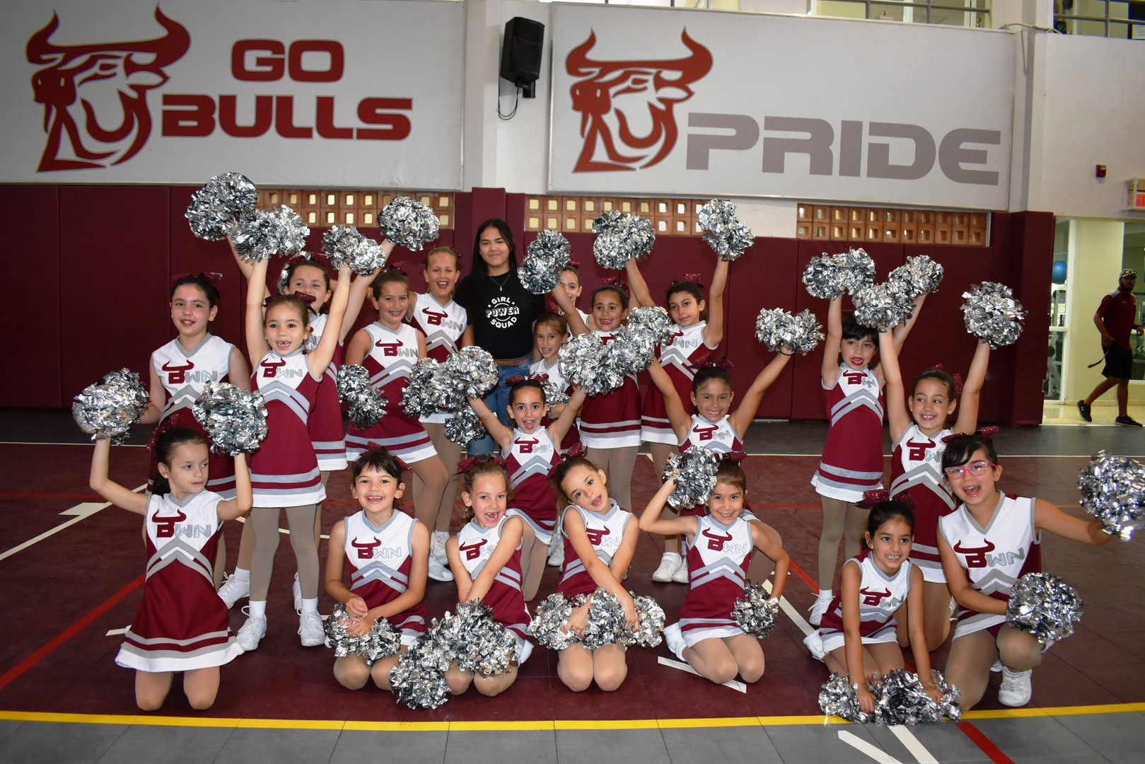 Bulls cheer squad