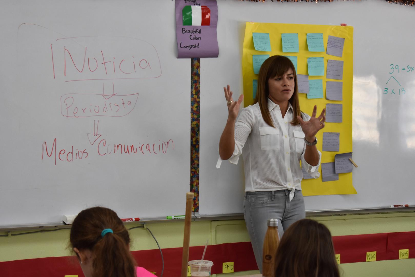 Journalist Layza Torres