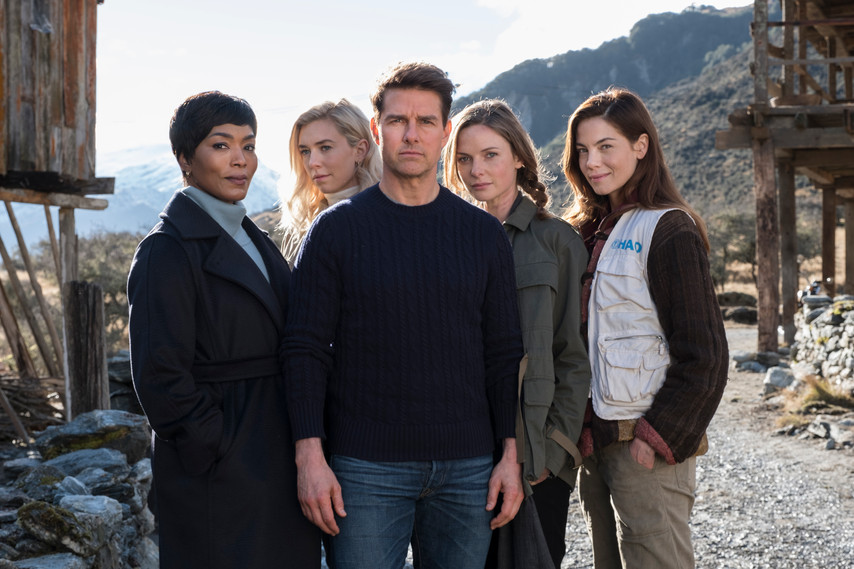 The Cast shot. Mission Impossible Fallout