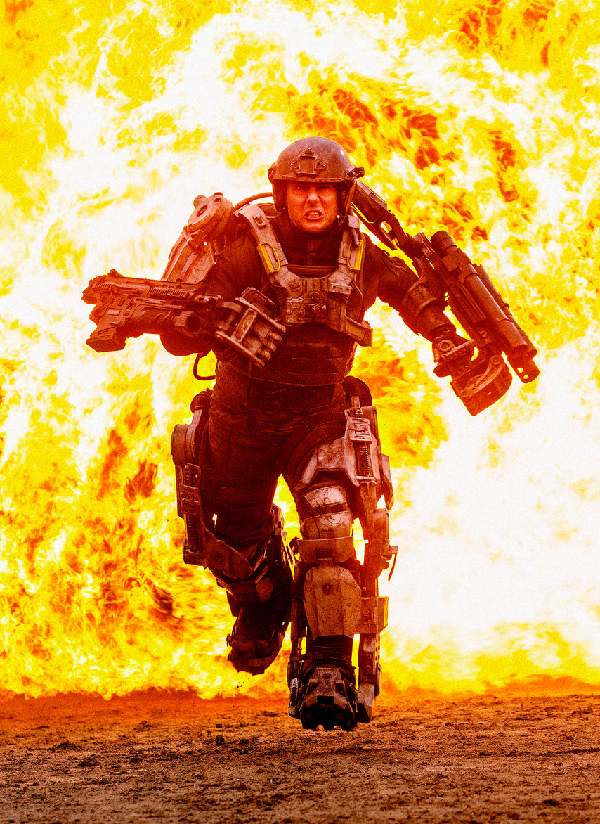 Tom Cruise 'All You Need Is Kill'.