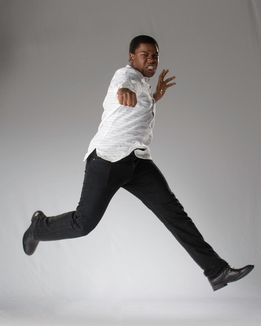 John Boyega jump.