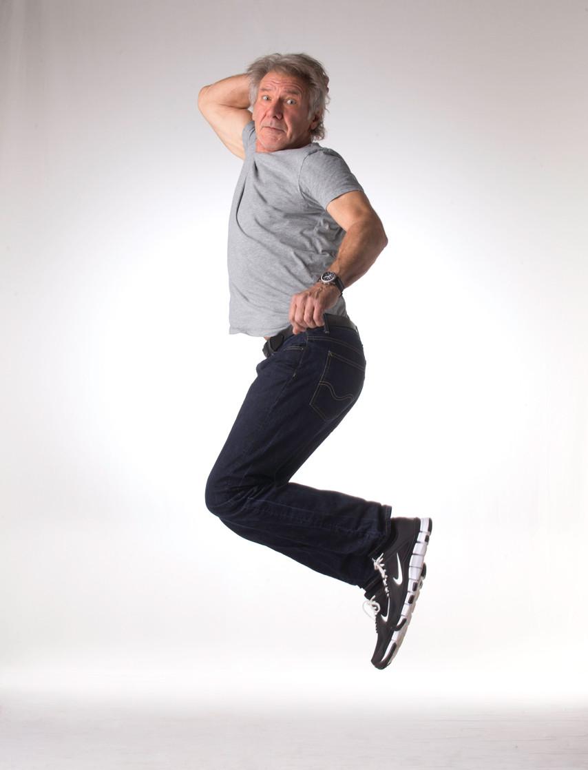 Harrison Ford jump