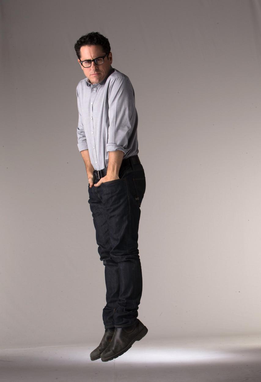 Jumping J.J Abrams