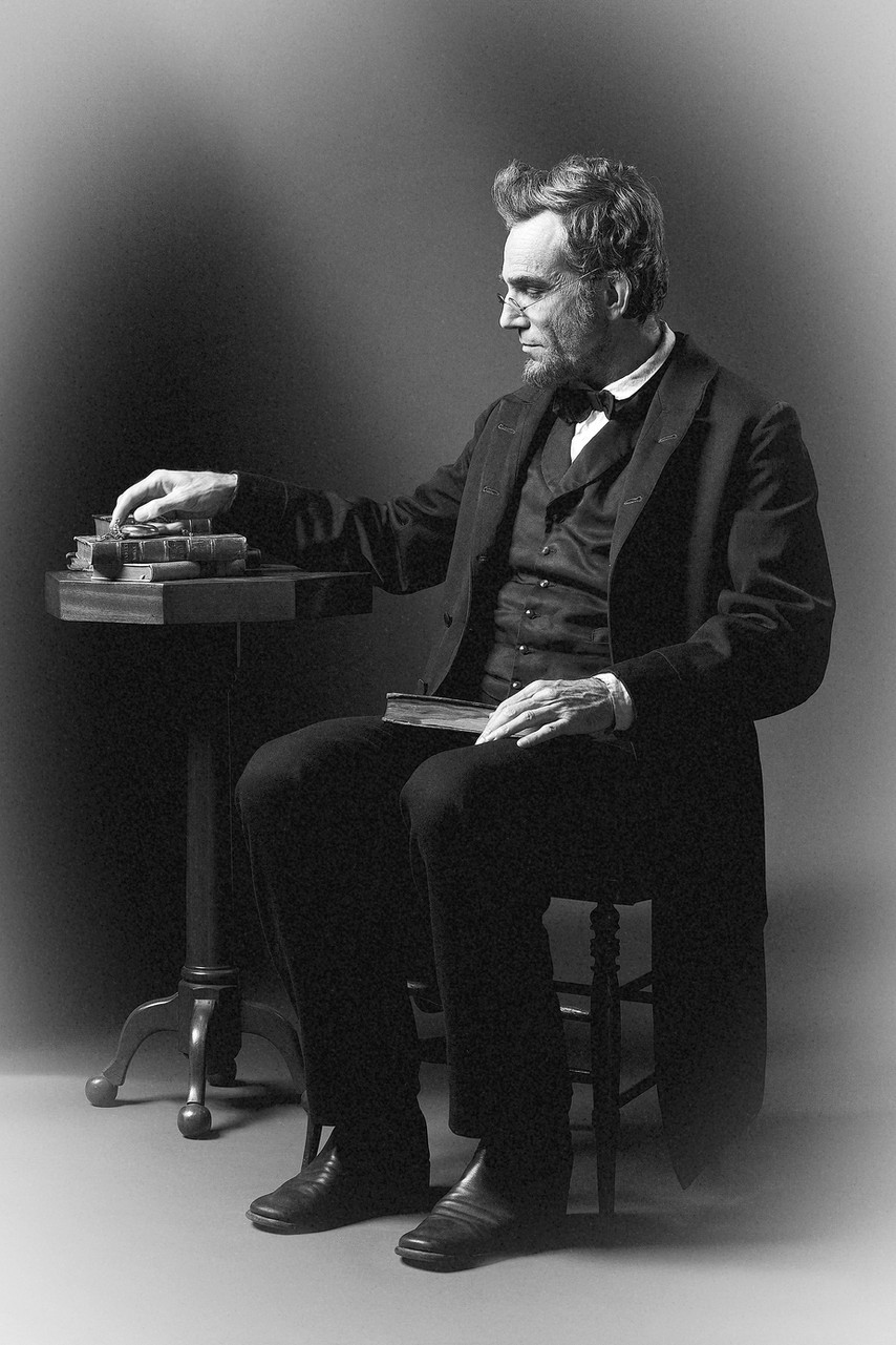 'Lincoln' Daniel Day-Lewis as the President