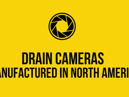 Drain Cameras Manufactured in North America