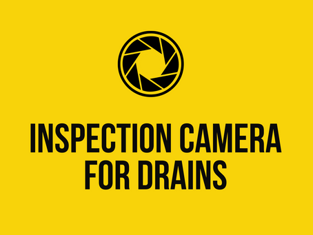 Inspection Camera for Drains