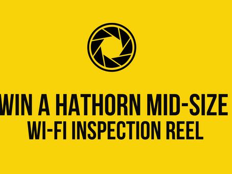 WIN A HATHORN MID-SIZE WIFI INSPECTION REEL