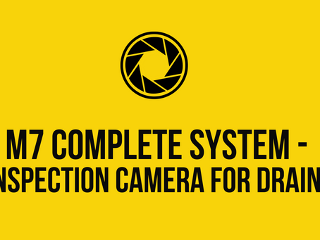 M7 Complete System - Inspection Camera for Drains