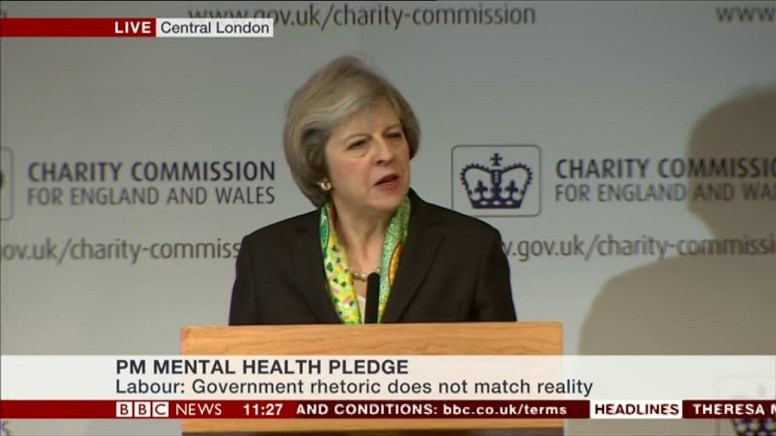 Image result for theresa may mental health
