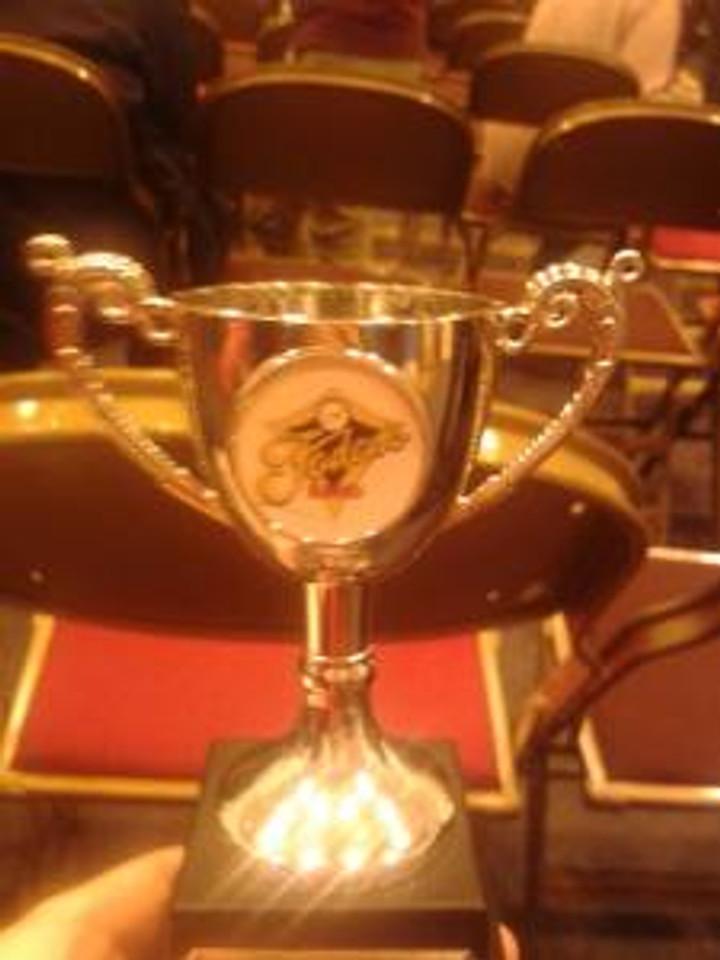 Little trophy, big achievement