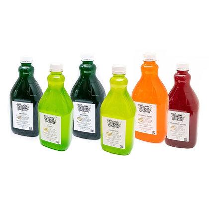 Slushy Syrup mix, Any Flavours, Mixed 6 x 2 litre Carton