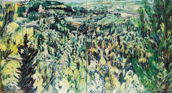 View from Gevaot 1,(diptych) 2007