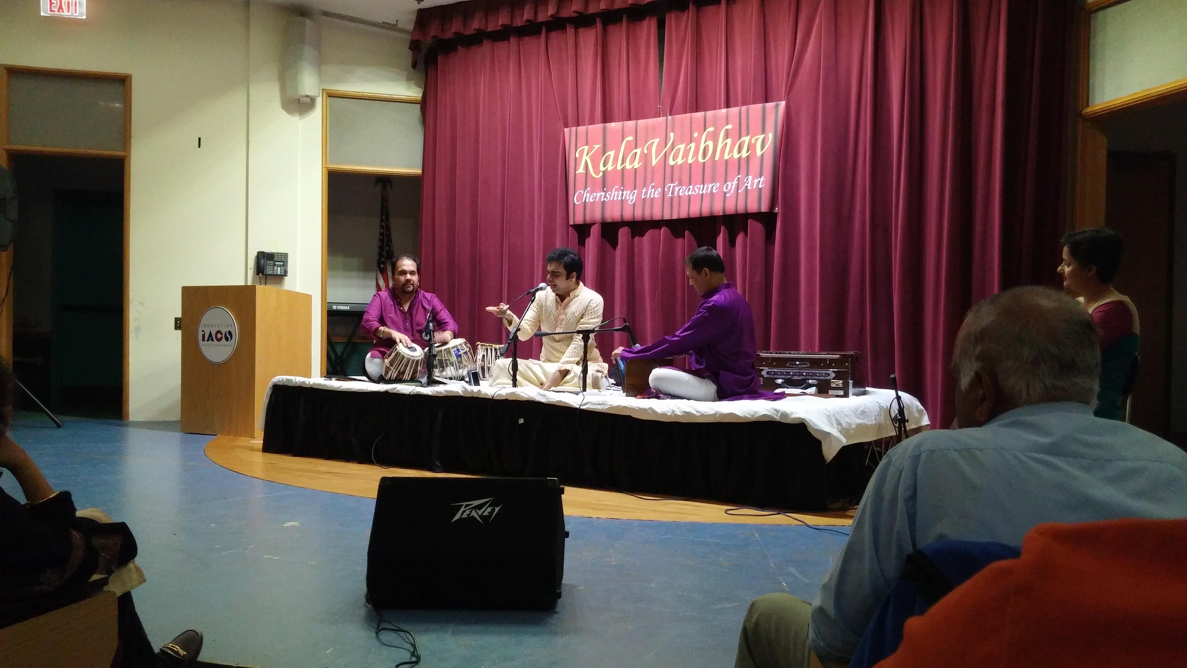 Rahul Deshpande Concert 2015 - 1