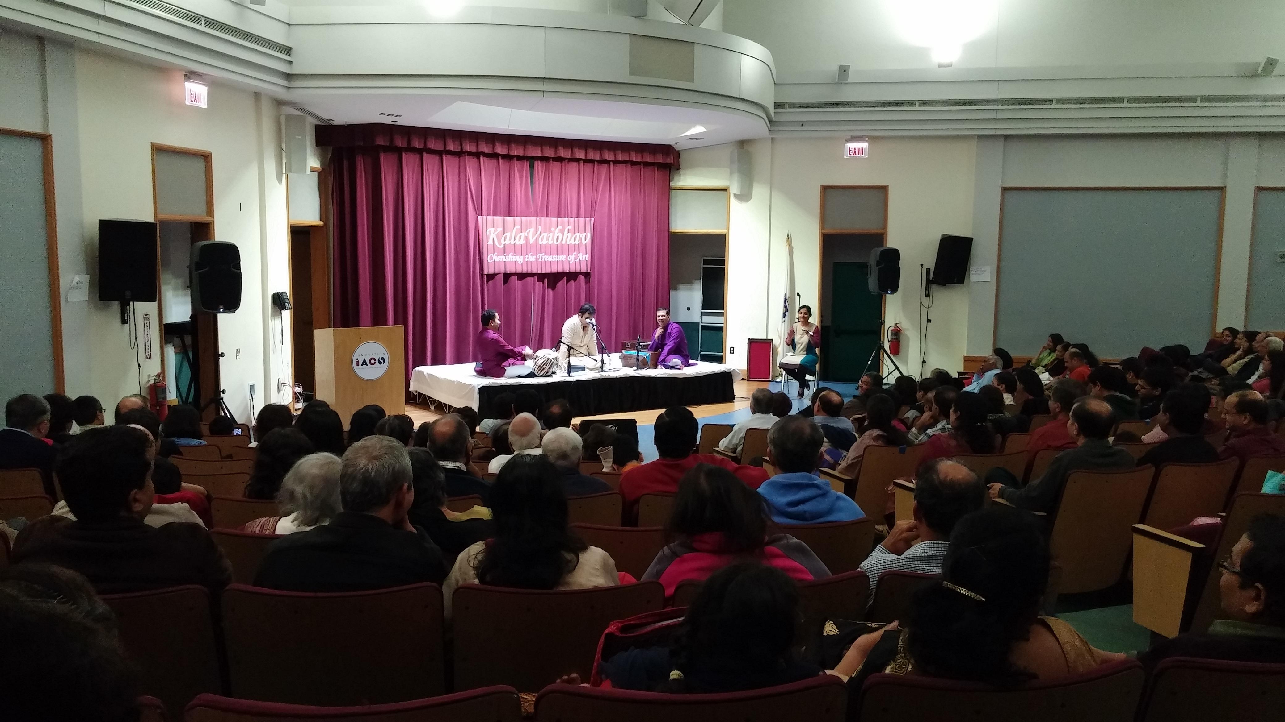 Rahul Deshpande Concert 2015 - 2