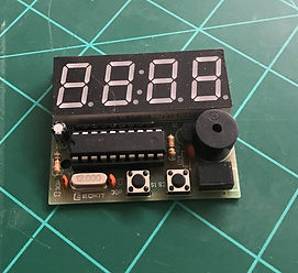 Electronic clock project