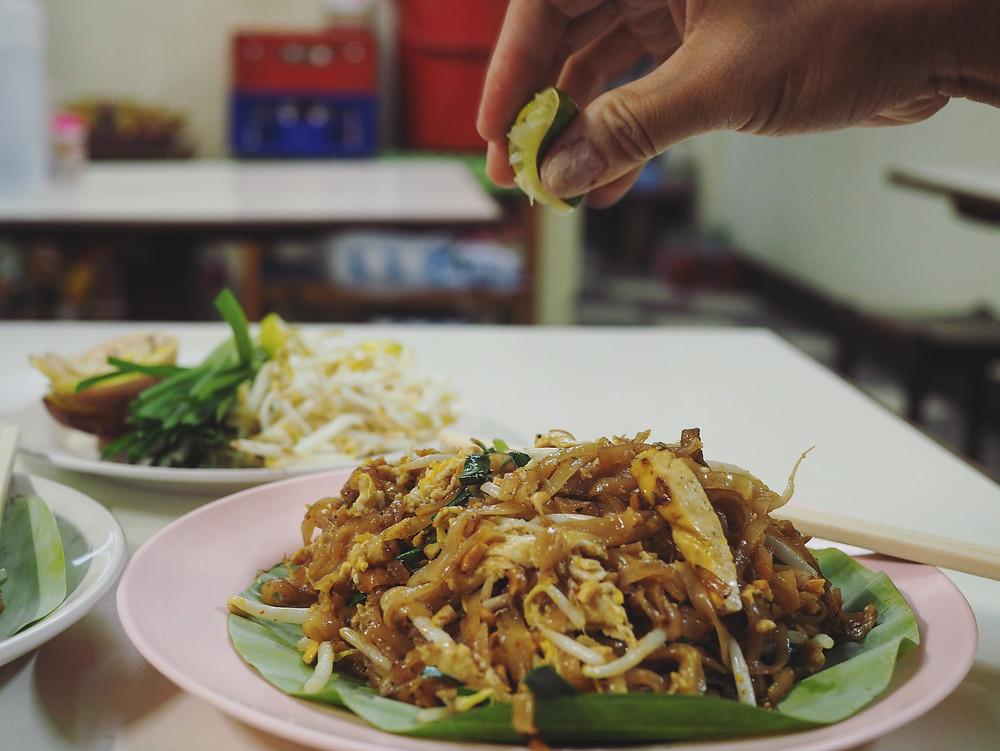 五味俱全的pad Thai