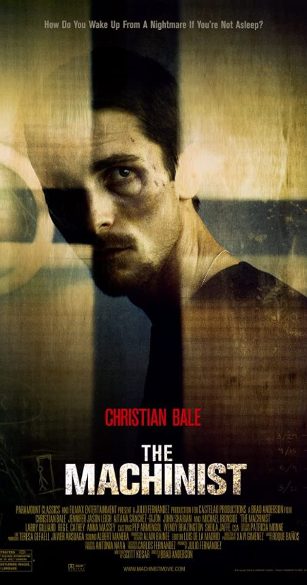 the machinist movie poster 电影海报