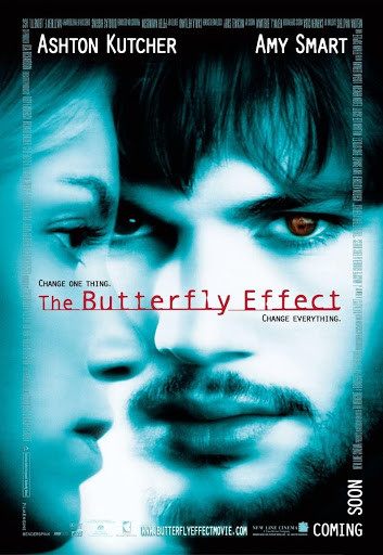 the butterfly effect movie poster 电影海报