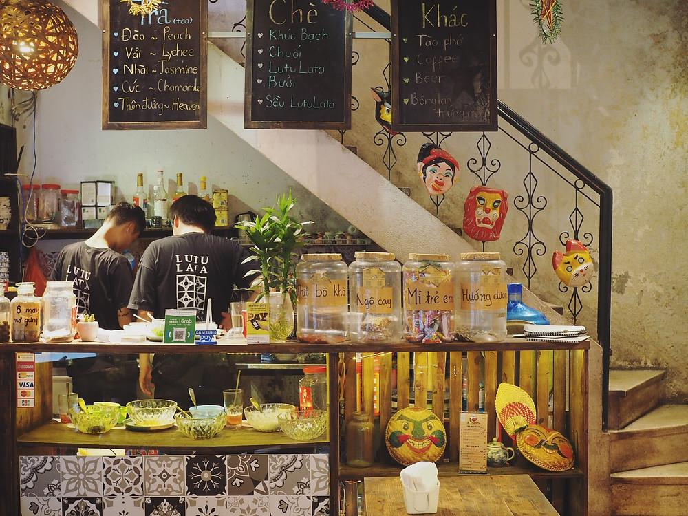 Lutulata Desserts & Drinks 河内甜品店