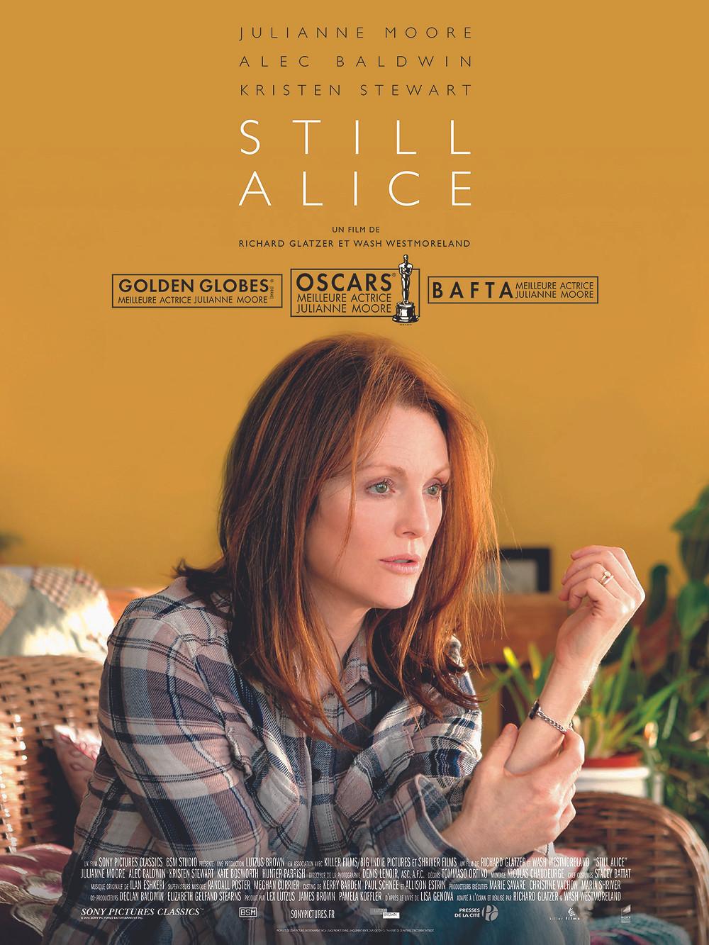 still alice 电影海报
