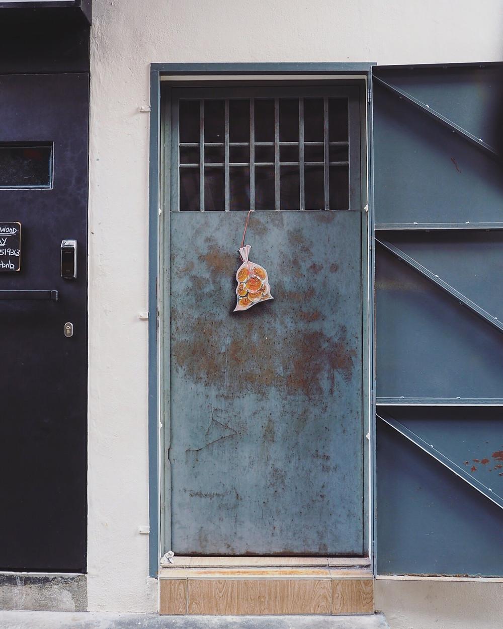 怡保二奶巷壁画