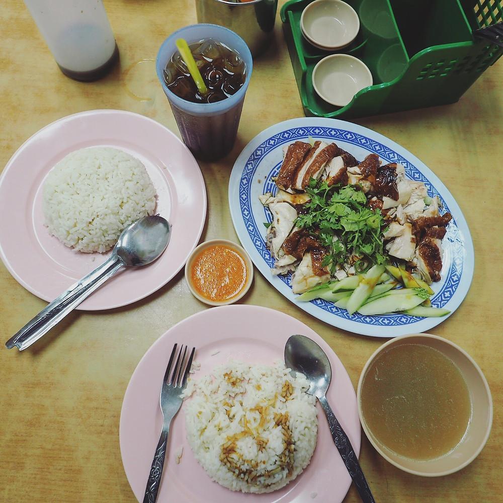 国泯叉烧鸡饭