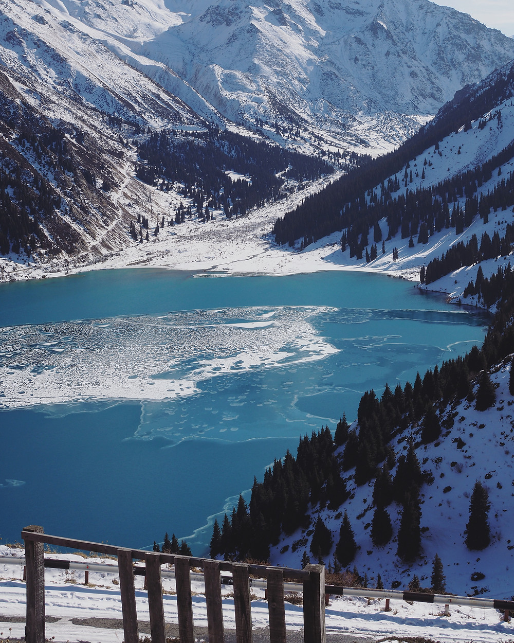 Big Almaty Lake 近观