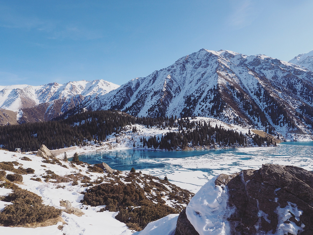 Big Almaty Lake 远观