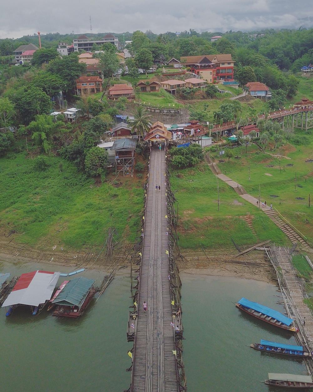 Mon Bridge 鸟瞰图
