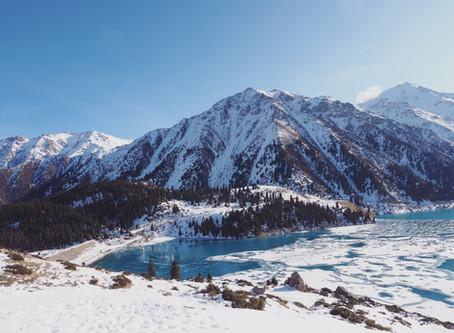 @ Big Almaty Lake:听说山上有一座研究院