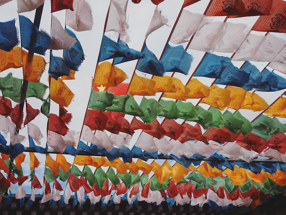藏传佛教经幡