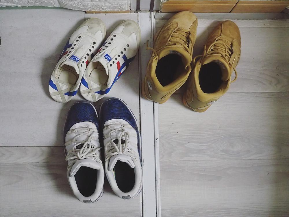 麦克的三双鞋子