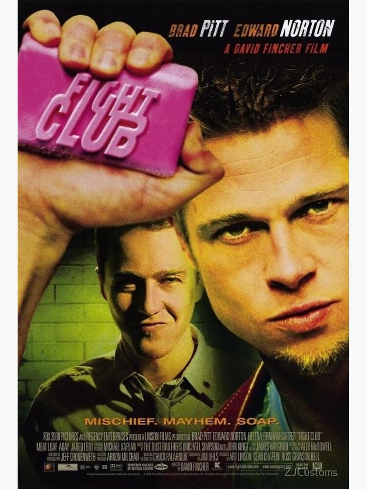 fight club movie poster 电影海报