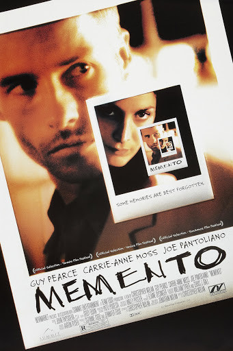 memento movie poster 电影海报