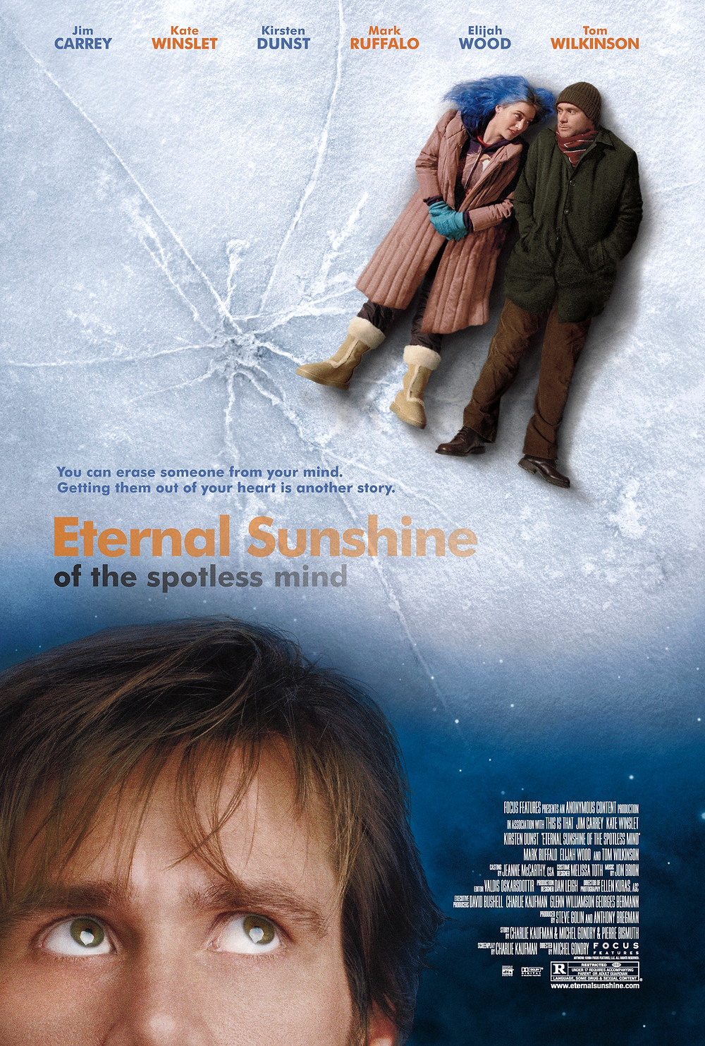 eternal sunshine of the spotless mind movie poster 电影海报