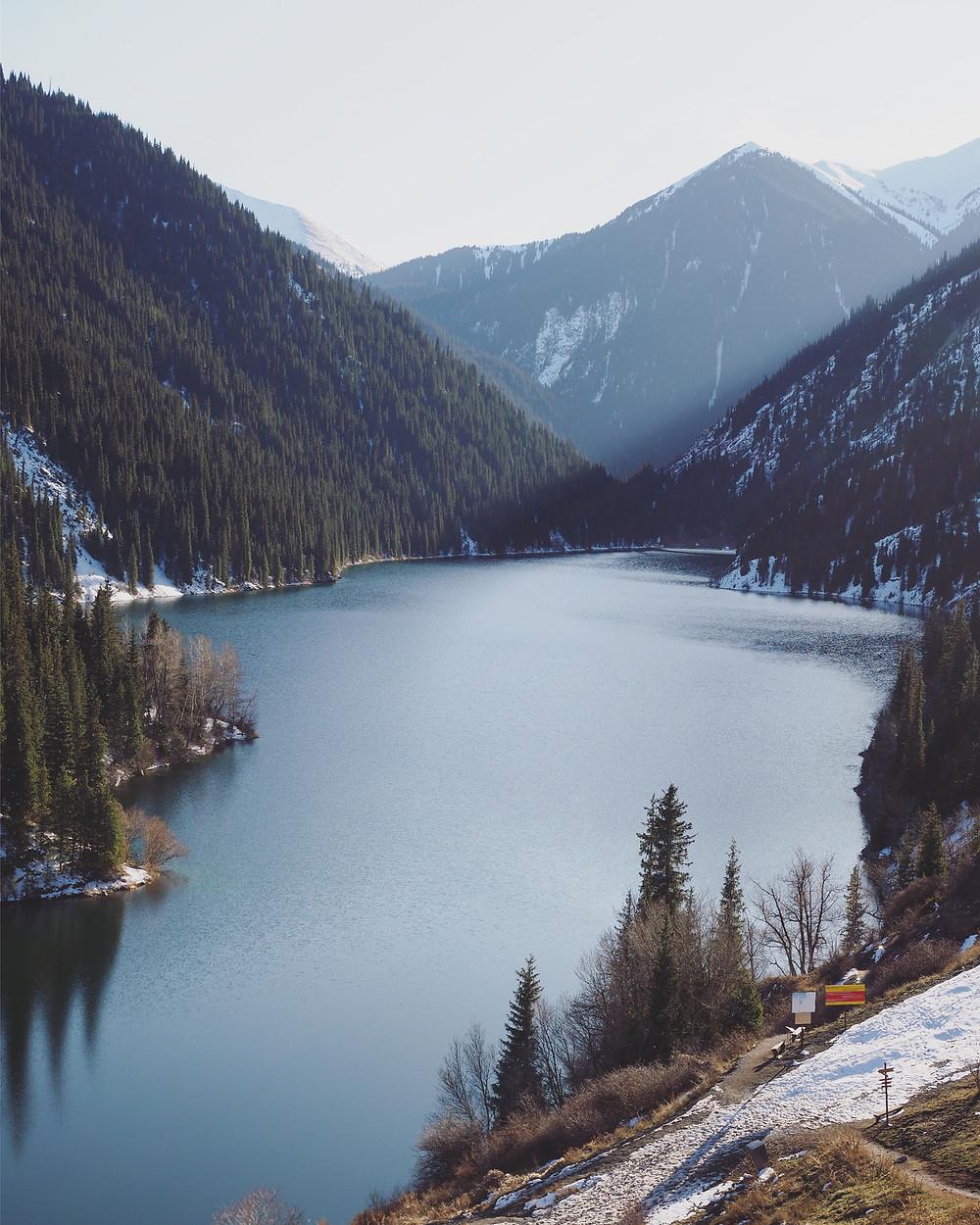 Kolsai 第一湖。